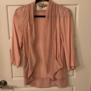 Pink Silky Blazer/jacket from Urban Outfitters